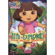 Dora the Explorer: Let's Explore! Dora's Greatest Adventures (dvd_video)