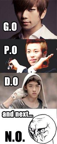 P.O block b D.O EXO G.O mblaq