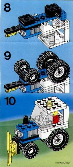 Vintage Lego Instructions Lego Club Pinterest Vintage Lego