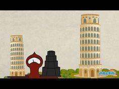 Leaning Tower of Pisa - Fun Fact Series EP19 | Mocomi Kids - YouTube