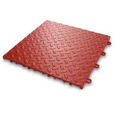 Gladiator GAFT48TTTR Red Floor Tile (48 Pack) You Save: $20.04  Price: $229.95