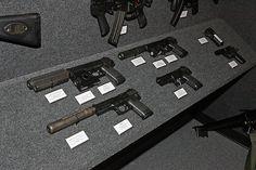 """Gun manufacturer Heckler & Koch's very impressive """"Grey Room"""" some silencer"""