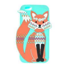 Mint Festival Fox Phone Case - iPhone 6/6S