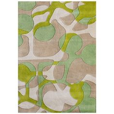 I love Scandinavian style  - Scandinavia Geometric Rug in Lime Green from the Lemon & Lime event at Joss and Main!