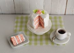 Miniature Pink Layer Cake