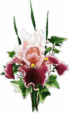 Flowers - Cross Stitch Patterns & Kits (Page 12) - 123Stitch.com  Item # 06-2851