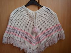 pončo - crochet
