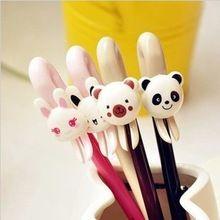 (4 قطعة/المجموعة) الدب والأرنب و الباندا جل القلم القرطاسية الإبداعية لطيف…