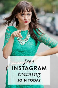 """Hi, I'm Hilary Rushford! After successfully growing my Instagram following to over 100K, and helping 5000+ entrepreneurs, creatives and dreamers grow their followings online, I'm opening up my Instagram training class again.  """"Just got off Hilary's free Instagram class—thought I hated webinars, turns out I've just tuned in to a bunch of bad ones. Not only was it engaging, it was jam packed with applicable gold!"""" —Valerie Jeannis  Click through to save your seat today!"""