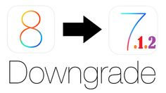 Step-by-step guide to downgrade iOS 8 to iOS 7.1.2 on iPhone, iPad or iPod Touch.
