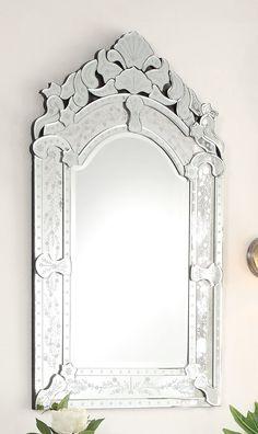 Your Speciality Bathroom Vanity Store Venetian Glass, Venetian Mirrors, Bathroom Vanity Store, Downstairs Bathroom, Wall Mirrors Ikea, Powder Room Design, Jack And Jill Bathroom, Crystal Shapes, Glass Texture