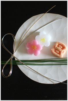 Japanese Confectionery for New Year Celeblation   Wagashi 和菓子