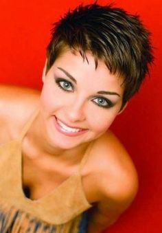 Today we have the most stylish 86 Cute Short Pixie Haircuts. We claim that you have never seen such elegant and eye-catching short hairstyles before. Pixie haircut, of course, offers a lot of options for the hair of the ladies'… Continue Reading → Black Pixie Haircut, Short Pixie Haircuts, Haircut And Color, Short Bangs, Pixie Haircut For Round Faces, Haircut Short, Bob Haircuts, Short Haircuts For Women, Pixie Cut Round Face