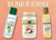 DIY Makeup Remover. 3 ingredients! Keep natural instead of make up remover chemicals!