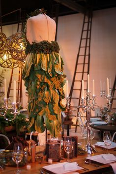 Lovely tablescape at Los Angeles event. Centerpiece Decorations, Decoration Table, Fine Dining, Event Decor, Tablescapes, Foods, Furniture, Home Decor, Food Food