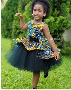 Lovely Ankara Styles for Kids Lovely Ankara Styles for Kids Baby African Clothes, African Dresses For Kids, African Print Dresses, Dresses Kids Girl, Girls, African Fashion Ankara, Latest African Fashion Dresses, African Print Fashion, Kids Dress Wear