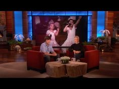 Sophia Grace & Rosie Dramatic Promo  Ellen is so generous with promoting other people...wow what an opportunity she is giving him...and Sophia Grace & Rosie