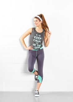 Keep calm and hit the gym | rue21