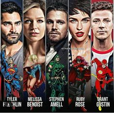 Are you guys excited for Batwoman on the CW? Heroes Dc Comics, Math Comics, Dc Comics Series, Batwoman, Vibe Comics, Crossover, Flash Tv Series, Flash Wallpaper, Superhero Shows