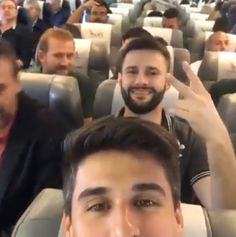 Video showing Brazilian footballers laughing in the plane just before their flight took off - http://www.thelivefeeds.com/video-showing-brazilian-footballers-laughing-in-the-plane-just-before-their-flight-took-off/