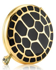 Limited Edition Turtle Endurance Powder Compact by Estee Lauder at Bergdorf Goodman.