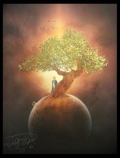 The Little Prince by FuzzyBuzzy Watch Digital Art / Photomanipulation / Fantasy