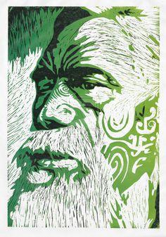 Reduction Woodblock Print by HelenParkinson on deviantART