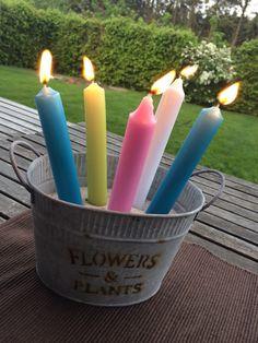 Vogelsand, Kerzen,Zinkwanne!