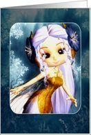 Any Occasion Blank Fantasy Fairy Card