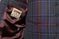 Tartan suits can be made for you with a lining of your choice from our showroom in Kings Cross, London. www.kilts4all.com