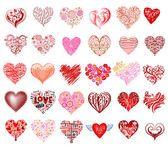 Vector harten — Stockillustratie #62798237