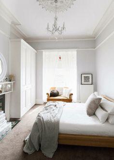 Sypialnia romantycznie - Lovingit.pl + Biała szafa