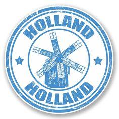 2 x Holland Vinyl Sticker #4705