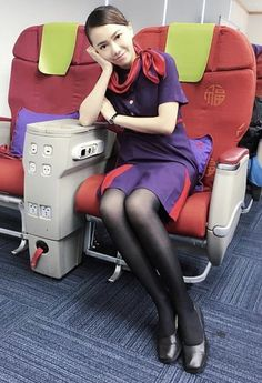 Come Fly With Me, Cabin Crew, Flight Attendant, Air, Aviation, Stockings, Beautiful Women, Vintage, Pretty Girls