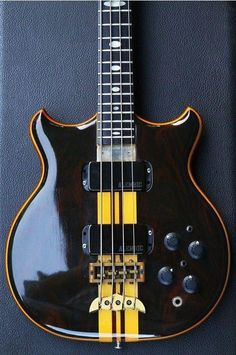 Stanley Clarke Signature Alembic Bass Guitar