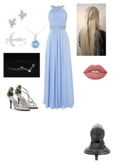 """G-Blue"" by jessica70-33 on Polyvore featuring Mode, Dyeables, Eliza J, Effy Jewelry, Elsa Peretti, Lime Crime und Kurt Adler"