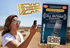 Aumenta tu cobertura móvil y Wifi con Cell Antenna ¡compatible con todos los móviles!