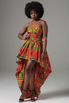 African clothing for women African dress Ankara dress by Laviye African Wear, African Attire, African Women, African Dress, African Dashiki, African Style, African Prom Dresses, African Fashion Dresses, Nigerian Fashion
