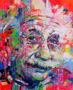 Marta Zawadzka - Albert Einstein