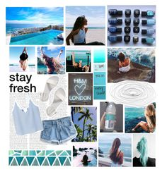 """""""- we fell in love right by the ocean"""" by ashleyfashions ❤ liked on Polyvore featuring Børn, Zone, WithChic, Old Navy and MANGO"""