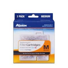 Aqueon 06084 Filter Cartridge, Medium, 3-Pack - http://www.thepuppy.org/aqueon-06084-filter-cartridge-medium-3-pack/