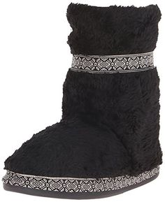 Woolrich Women's Whitecap Bootie Slipper
