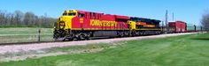 516 West on train BICB26 at Homestead, IA. 4/27/15