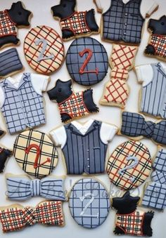 plaid cookie collection