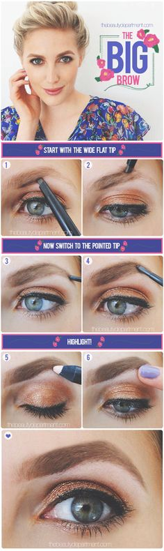 how to get thick full eyebrows