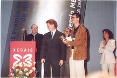 Luís Rei Núñez. Gañador do Premio Xerais de Novela 2000