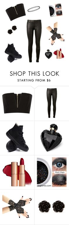 """""""My style"""" by mnm13132 ❤ liked on Polyvore featuring Balmain, AG Adriano Goldschmied, Converse, Lipsy and Erica Lyons"""