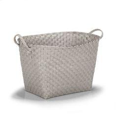 Panier à linge gris Gris - Prisma - Les paniers à linge - Paniers et malles - Tout pour le rangement - Décoration d'intérieur - Alinéa