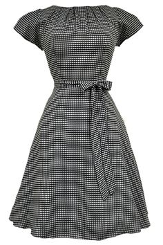 """The popular """"Lady Vintage"""" 50s Day Dress returns for Autumn 2014 to Lady V London! The..."""