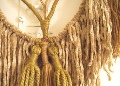 My latest tapestries on the blog - Ritual Mystic: Knotting and Weaving